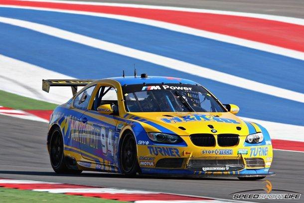 Turner Motorsports BMW M3 GT at Circuit of the Americas