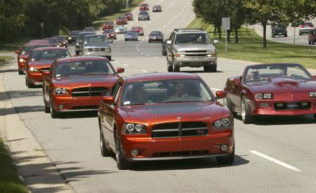 Detroit-Area Dodge Dealers Take Delivery Of 2006 Dodge