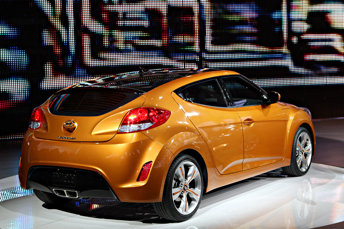 2011 Naias Hyundai Veloster Reveal Gallery Speed Sport